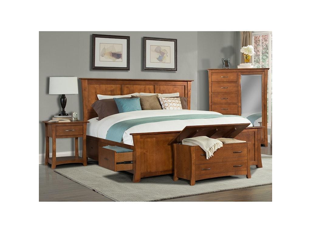 AAmerica Grant ParkQueen Bedroom Group