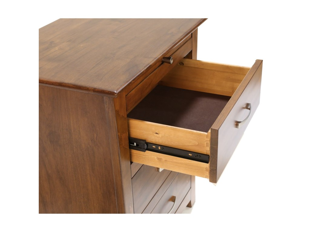 AAmerica Grant Park3 Drawer Nightstand