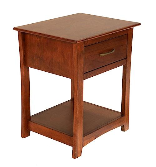 AAmerica Grant Park One Drawer Nightstand