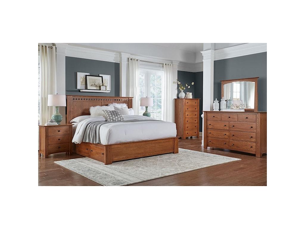 AAmerica King Bedroom Group