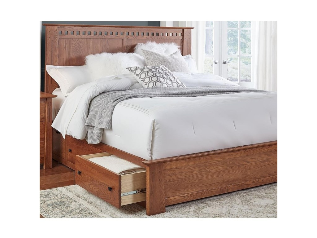 AAmerica GuilfordQueen Storage Bed