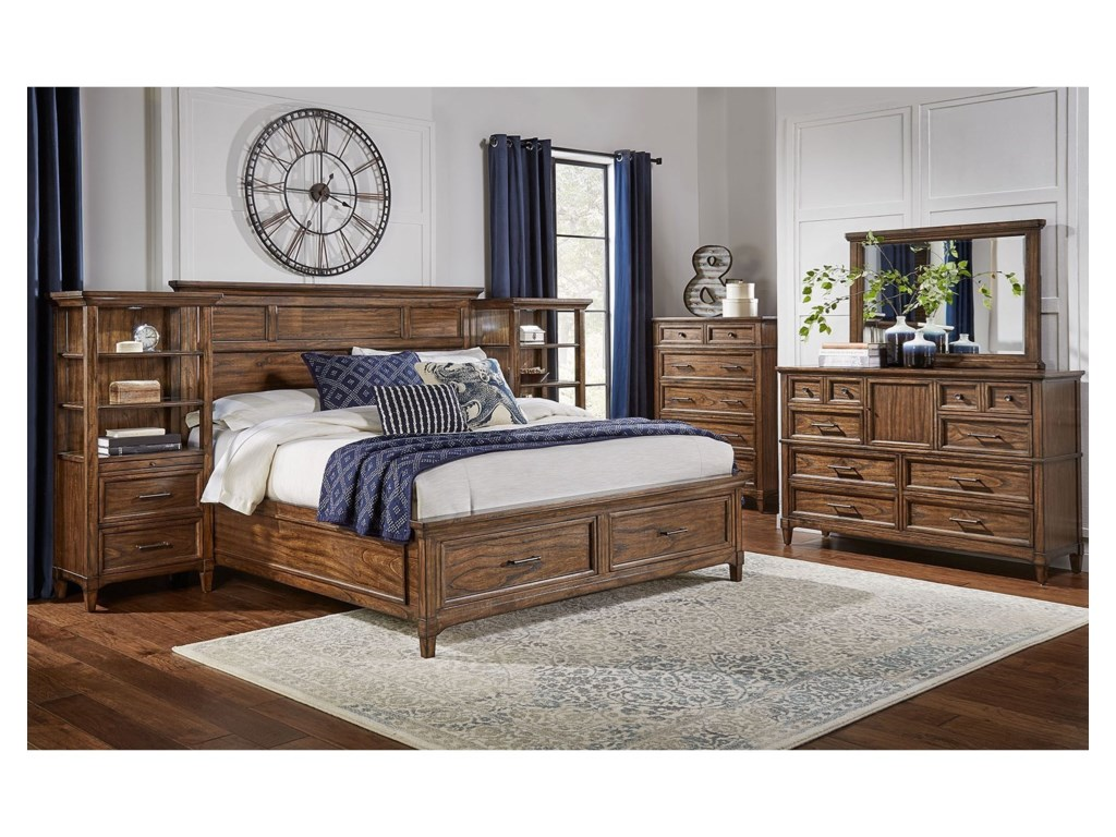 AAmerica HarborsideKing Bedroom Group