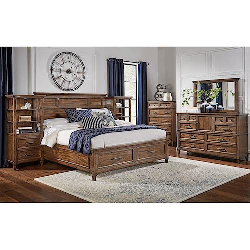 AAmerica Harborside King Bedroom Group