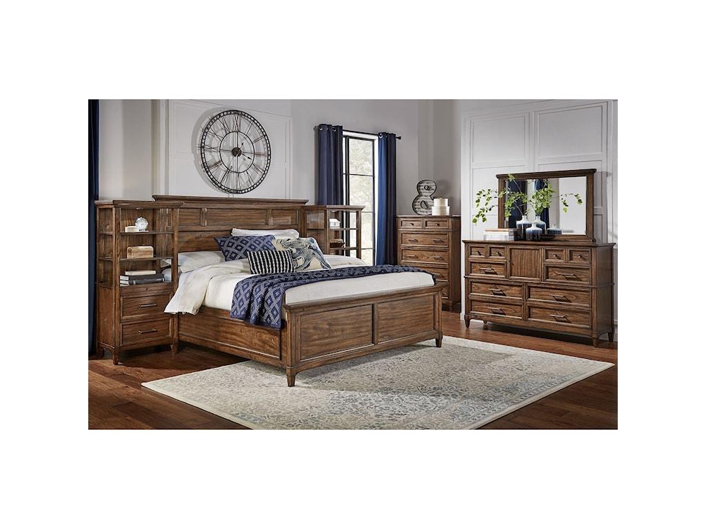 AAmerica HarborsideQueen Bedroom Group