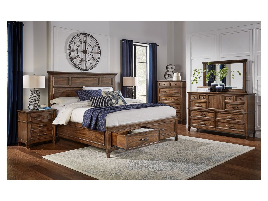 AAmerica HarborsideQueen Bedroom Group