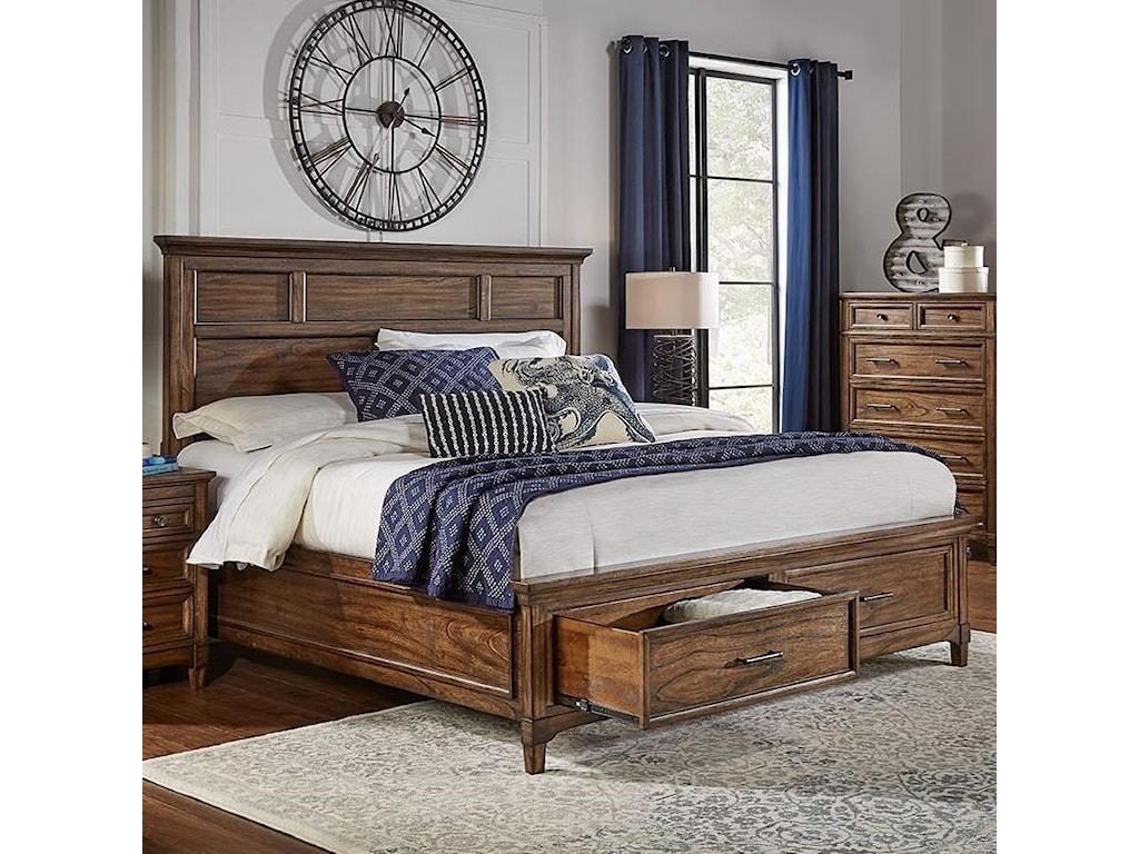 AAmerica HarborsideQueen Storage Bed