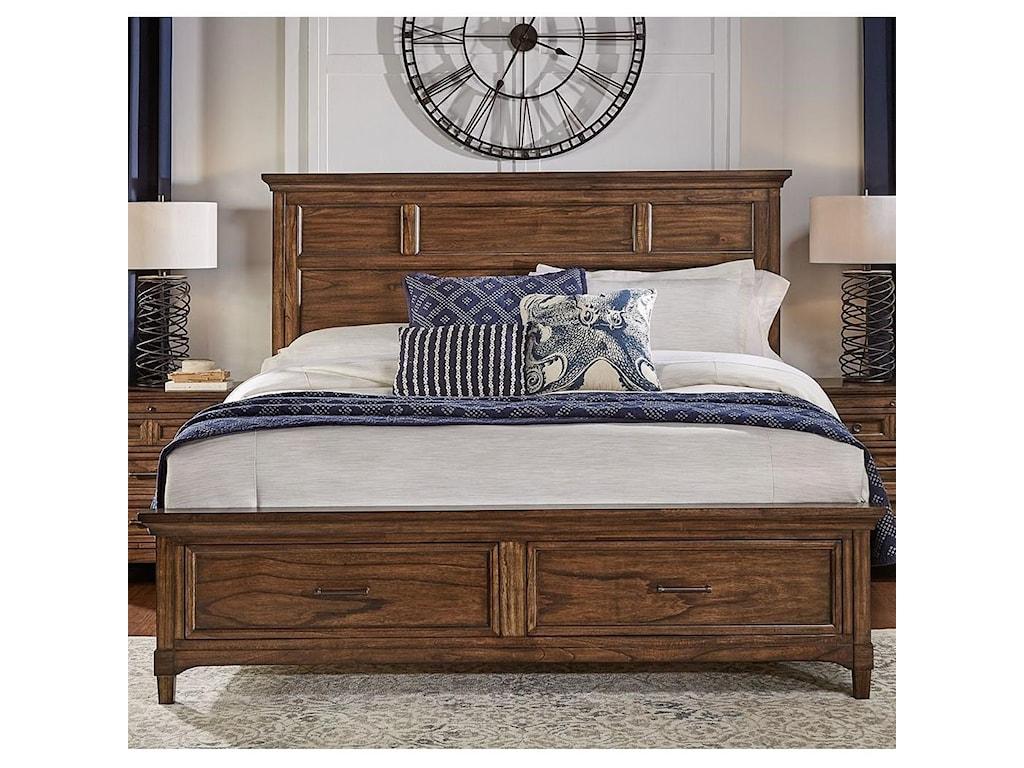 AAmerica HarborsideKing Storage Bed
