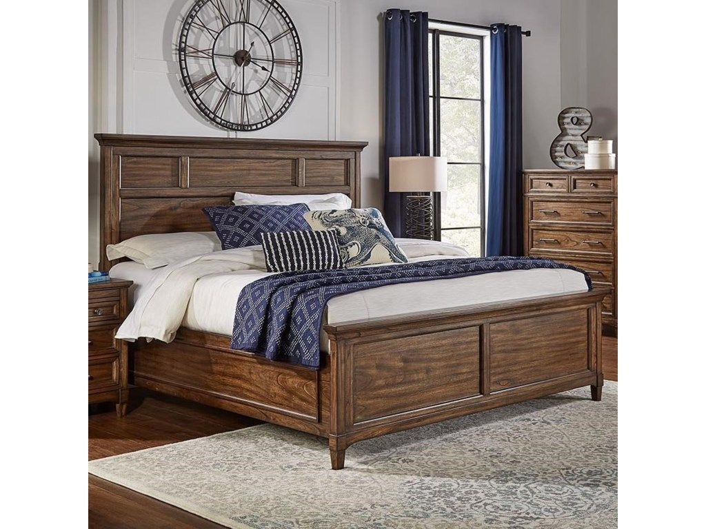 AAmerica HarborsideCal King Panel Bed