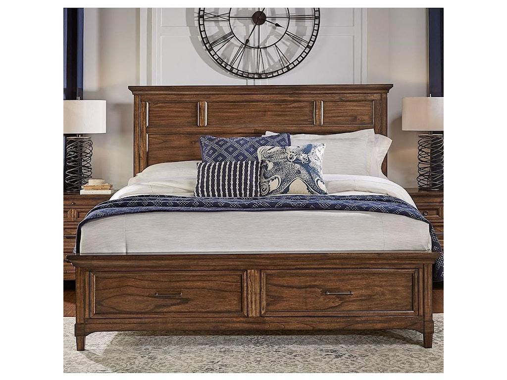 AAmerica HarborsideCal King Storage Bed