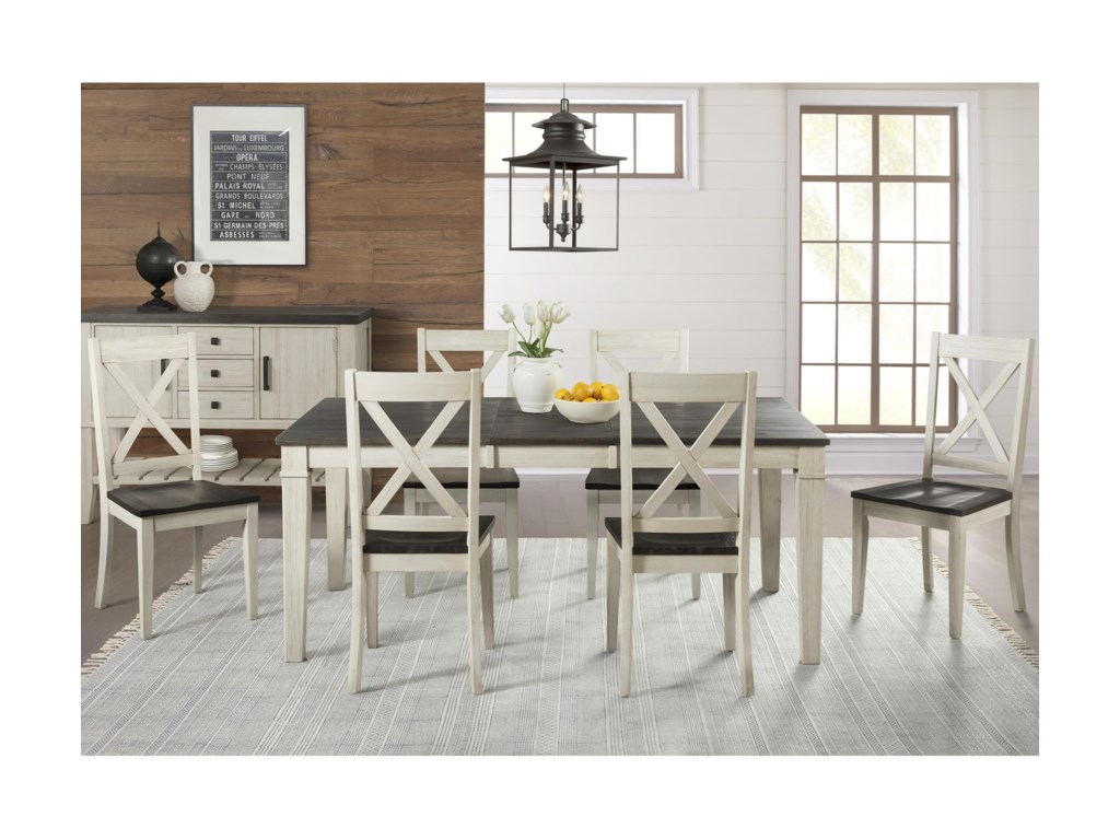 AAmerica HuronTransitional Table and Chair Set