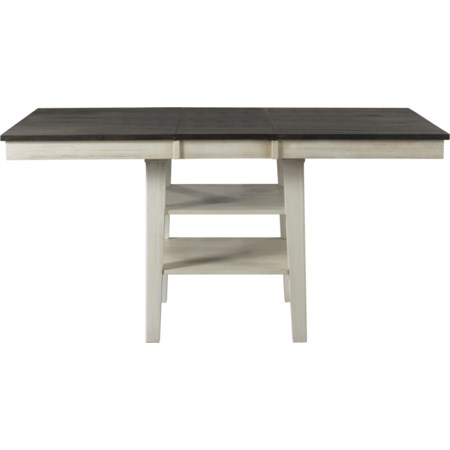 Rectangular Counter Height Pedestal Table