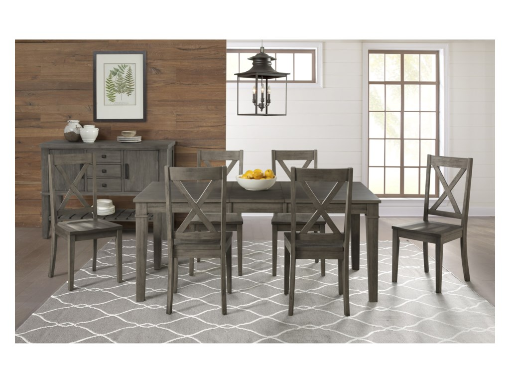AAmerica HuronCasual Dining Room Group