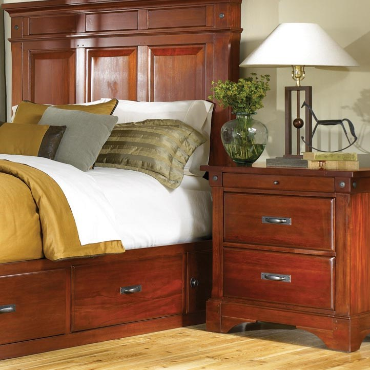 AAmerica Kalispell Two Drawer Nightstand
