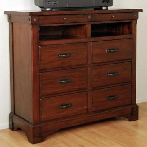AAmerica Kalispell Television Stand Dresser