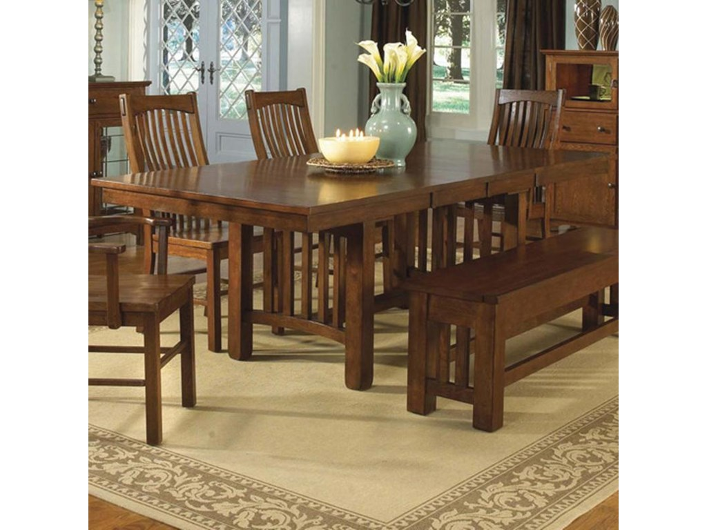 AAmerica LaurelhurstTrestle Table