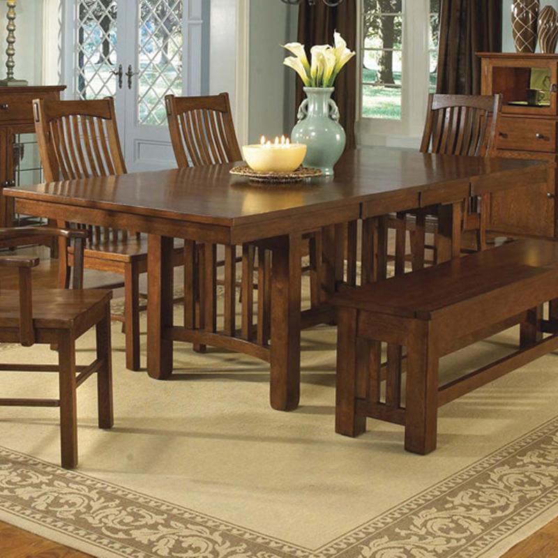 AAmerica LaurelhurstTrestle Table; AAmerica LaurelhurstTrestle Table