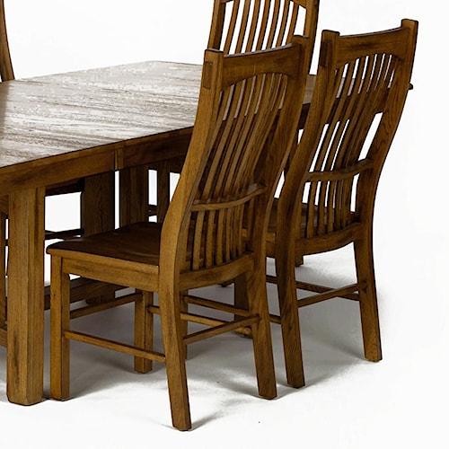 AAmerica Laurelhurst Slatback Side Chair