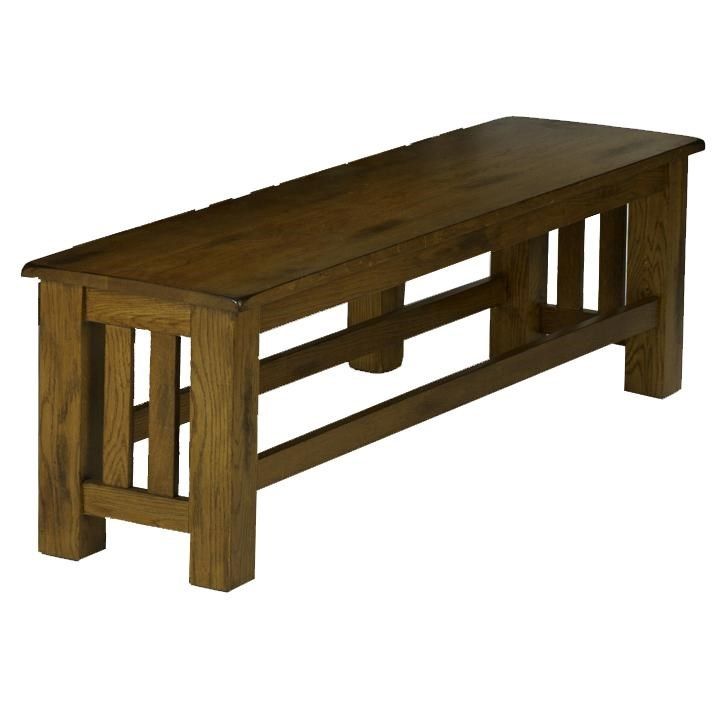 AAmerica Laurelhurst Mission Storage Bench | Dinette Depot | Bench   Dining  Benches