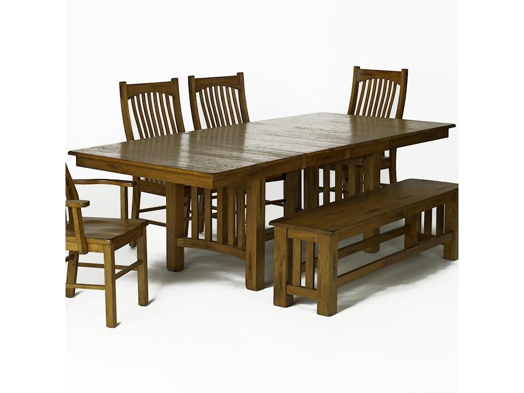 AAmerica LaurelhurstTrestle Table