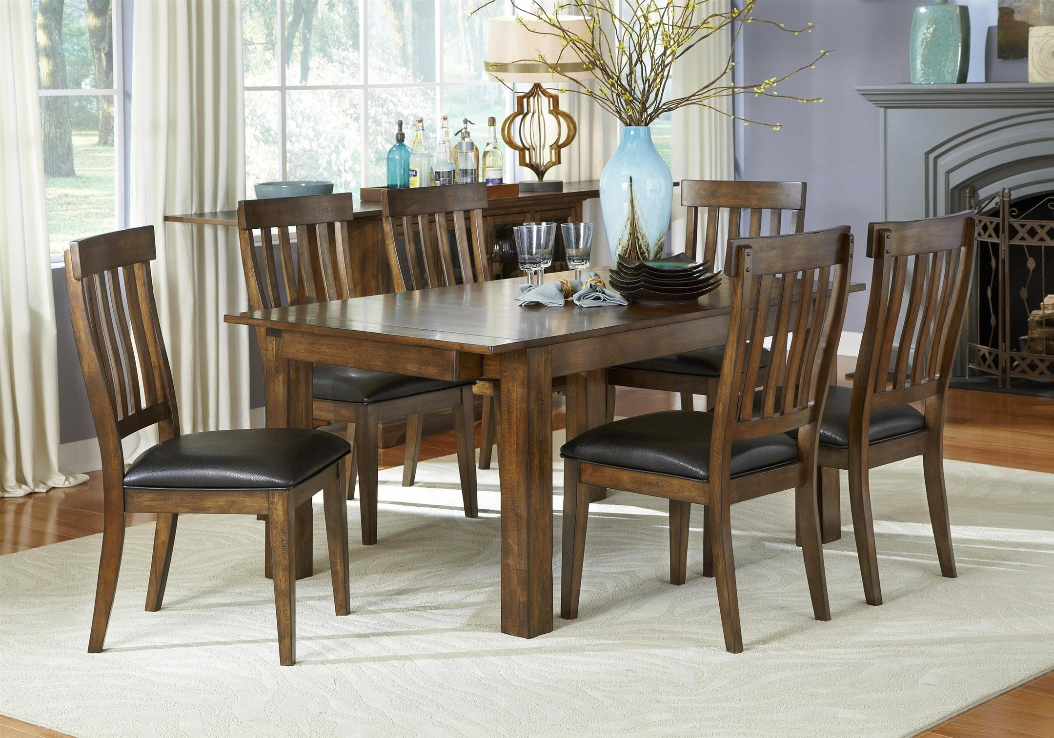 Winchester 5-Piece Tables and Chairs Set & Winchester 5-Piece Tables and Chairs Set | Ruby-Gordon Furniture ...