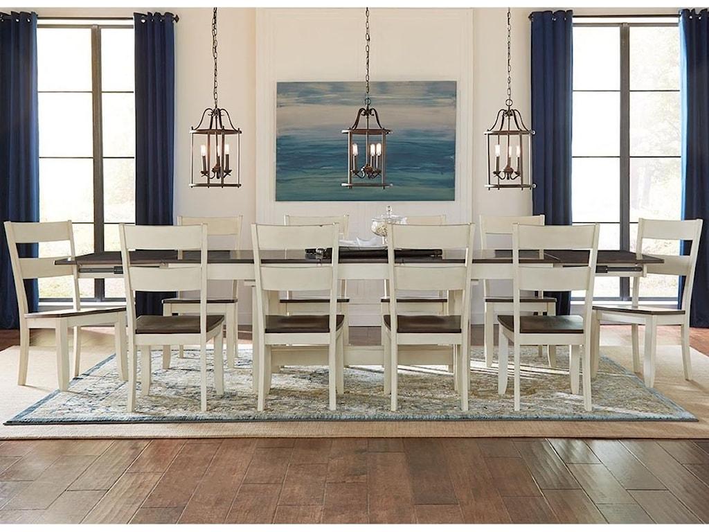 AAmerica Mariposa11 Piece Dining Set