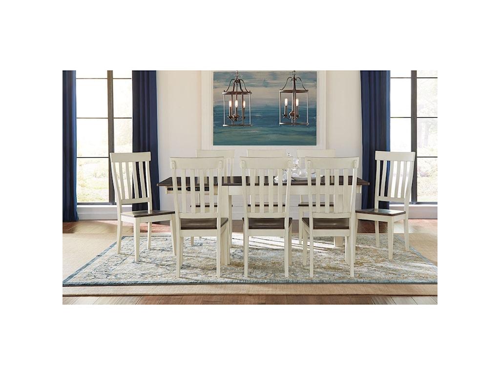 AAmerica Mariposa9 Piece Dining Set
