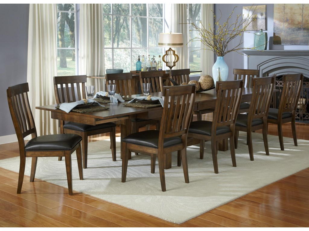 AAmerica Mariposa11 Piece Table and Chair Set
