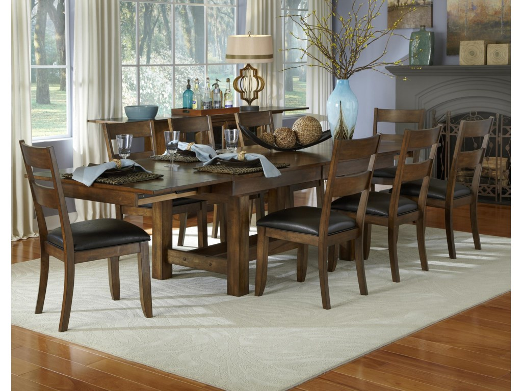 AAmerica Mariposa9 Piece Table and Chairs Set