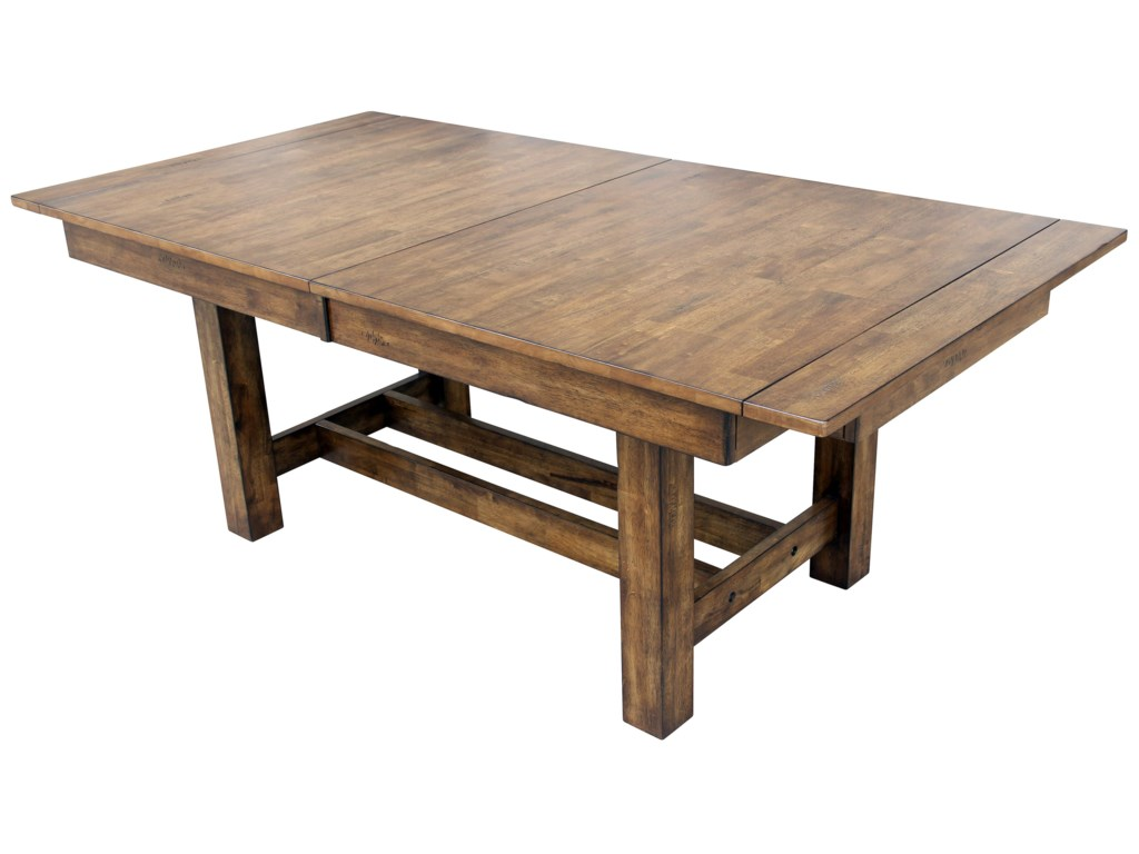 1fea33559b27 AAmerica Mariposa MRP-RW-6-08-0 Trestle Table with 3 Butterfly ...