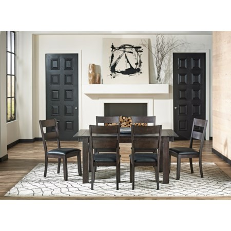 7 Piece Table and Chairs Set