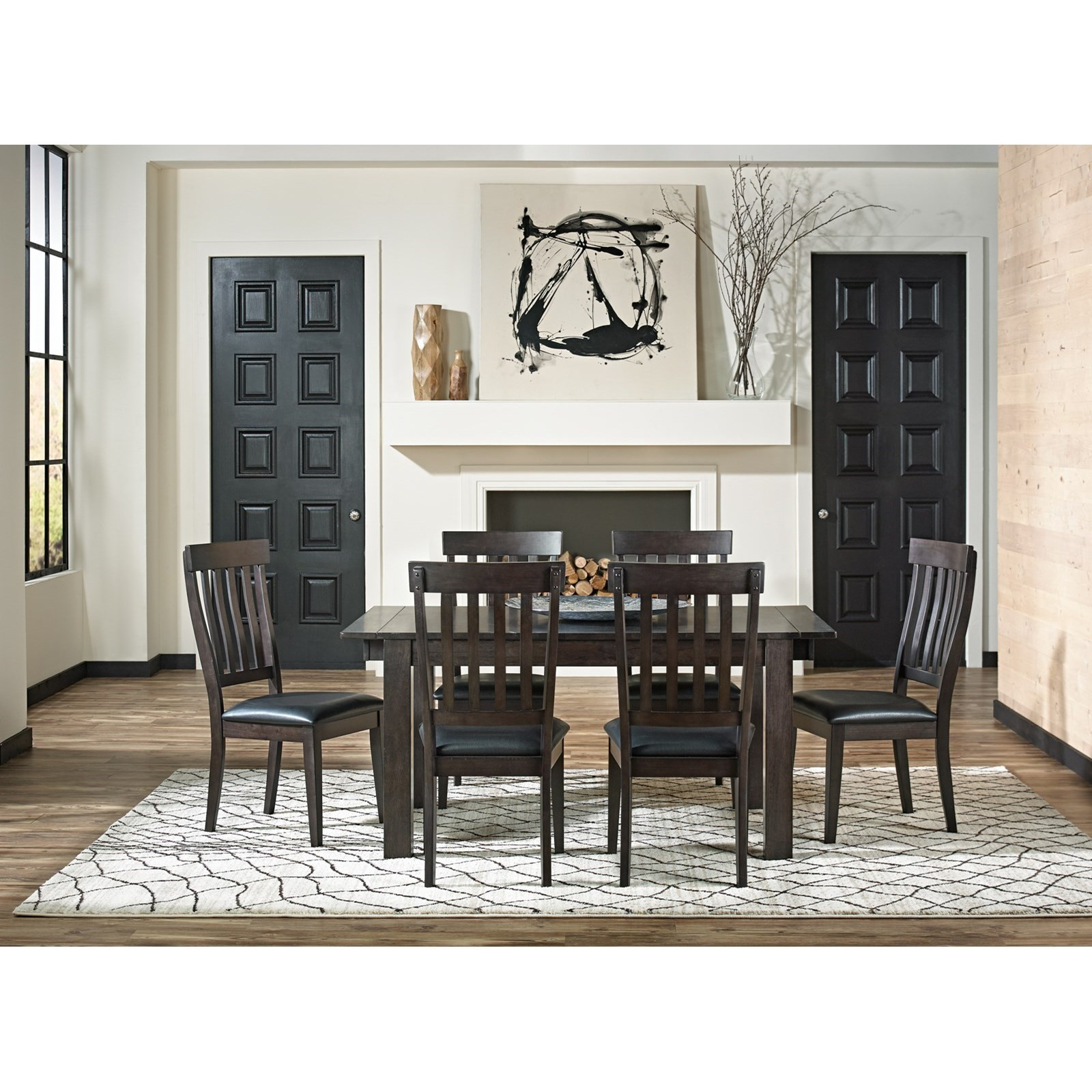AAmerica Mariposa7 Piece Table And Chairs Set ...