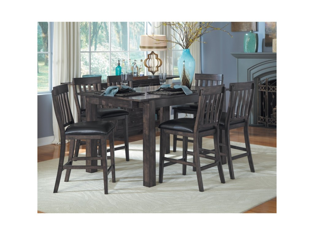 AAmerica Mariposa7 Piece Table and Chairs Set