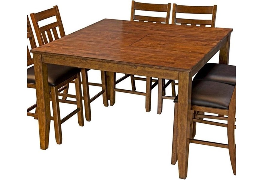 Mason Square Gathering Height Table