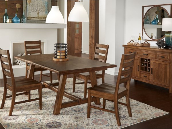 Wayside Dining Room Furniture: Casual Dining Room Group