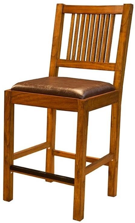 AAmerica Mission HillSlatback Bar Stool