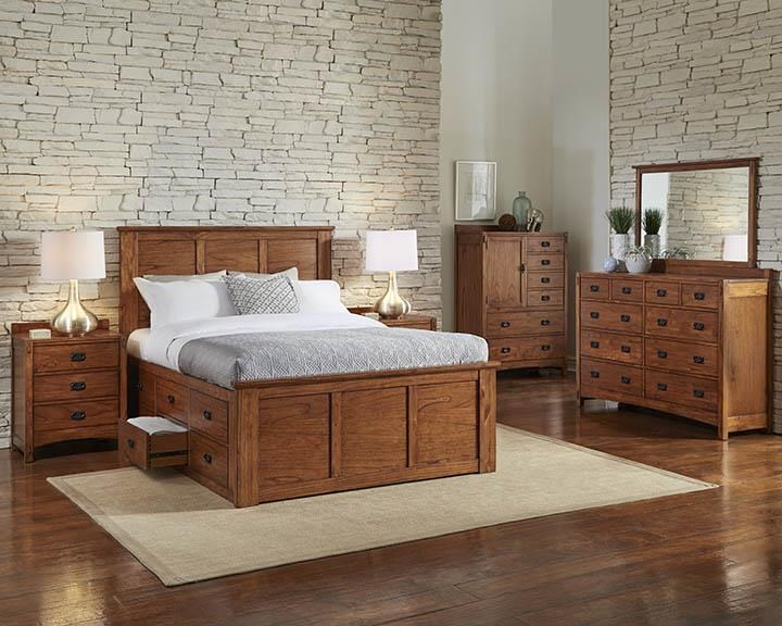 AAmerica Mission HillQueen Captain Bed