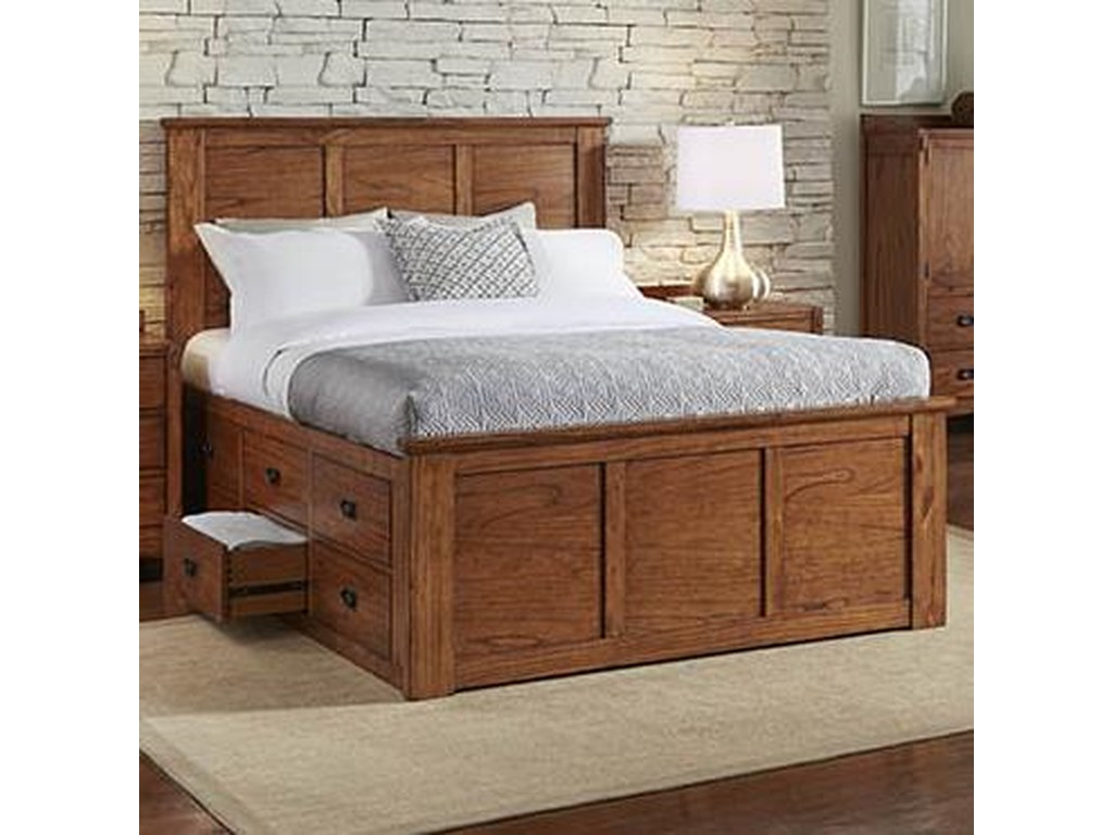 AAmerica Mission HillKing Captain Bed