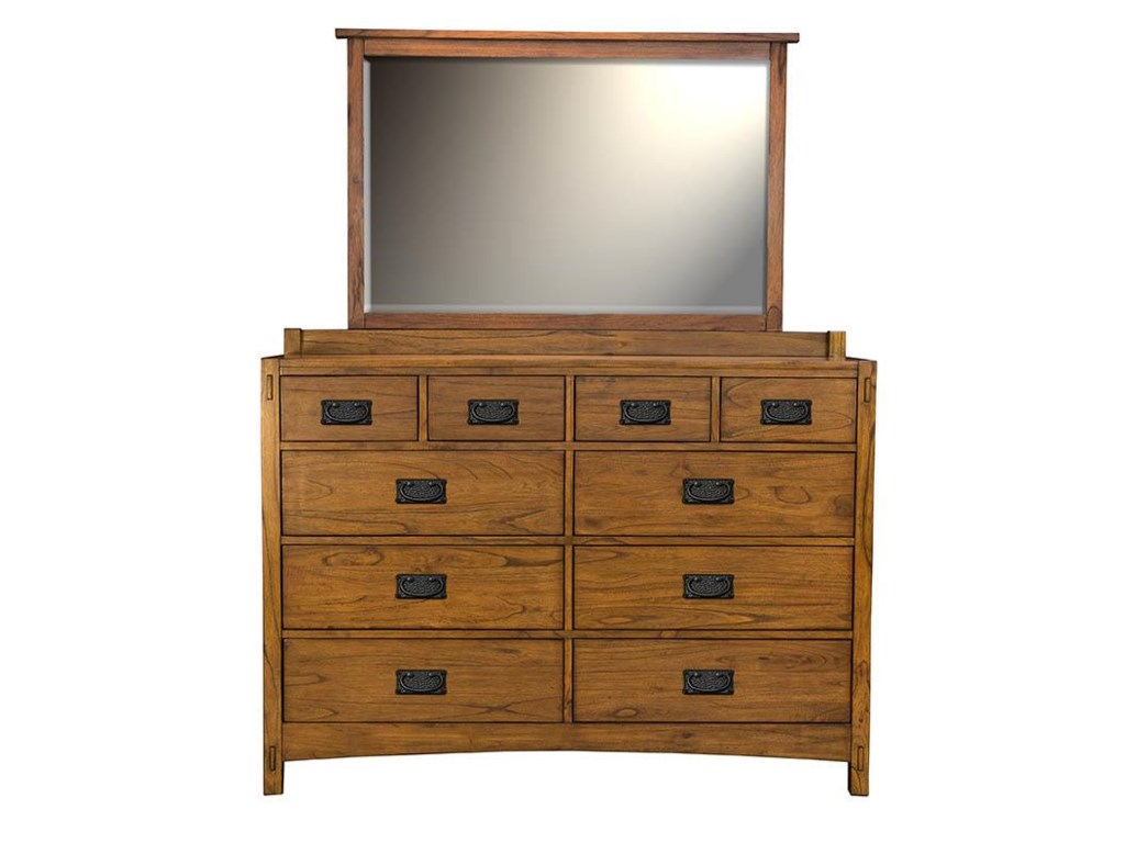 AAmerica Mission HillDrawer Dresser