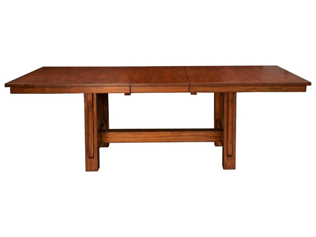 AAmerica Mission HillTrestle Table