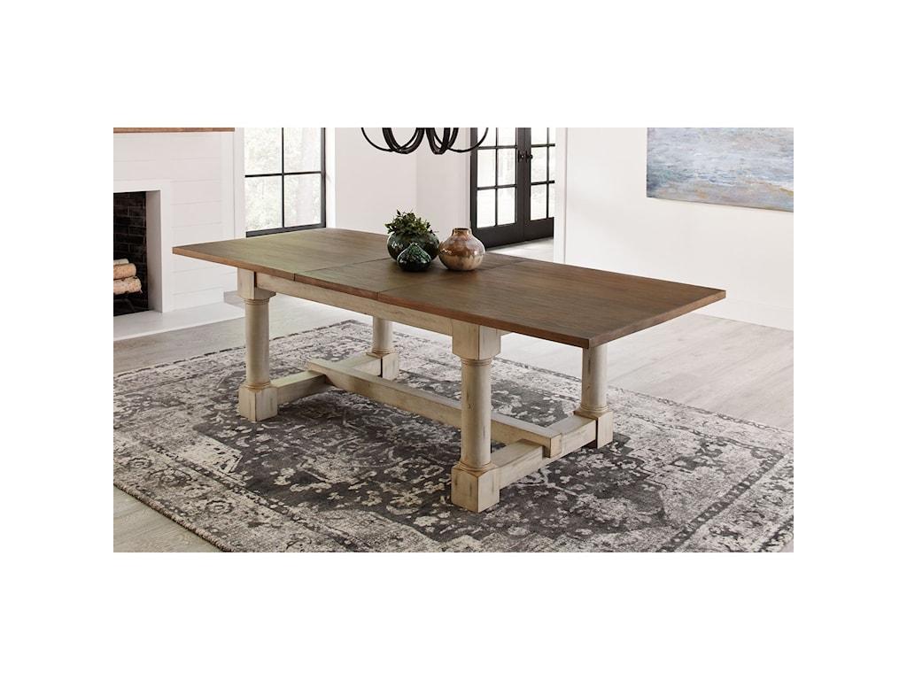 AAmerica MonasteryTrestle Table