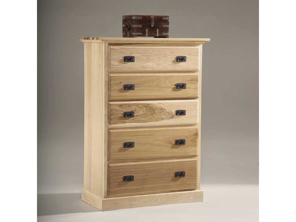 AAmerica Amish Highlands5 Drawer Chest