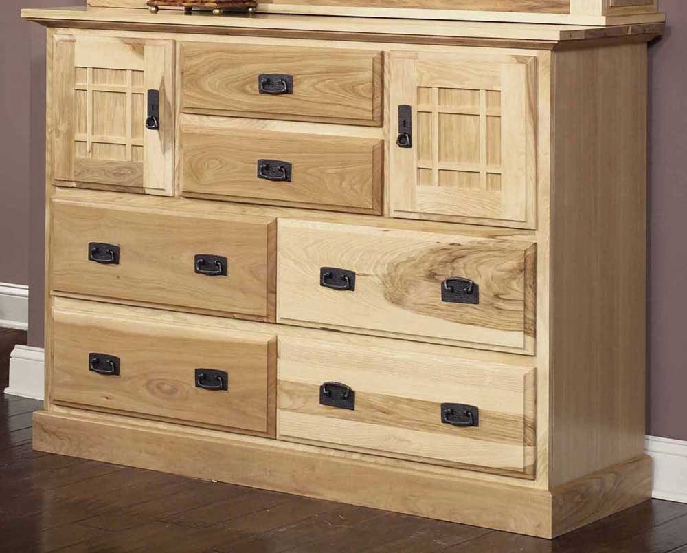 Solid Hickory Mule Chest