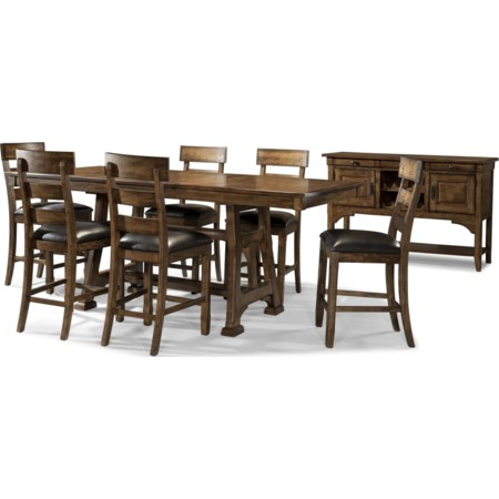 Formal Gathering Height Dining Room Group
