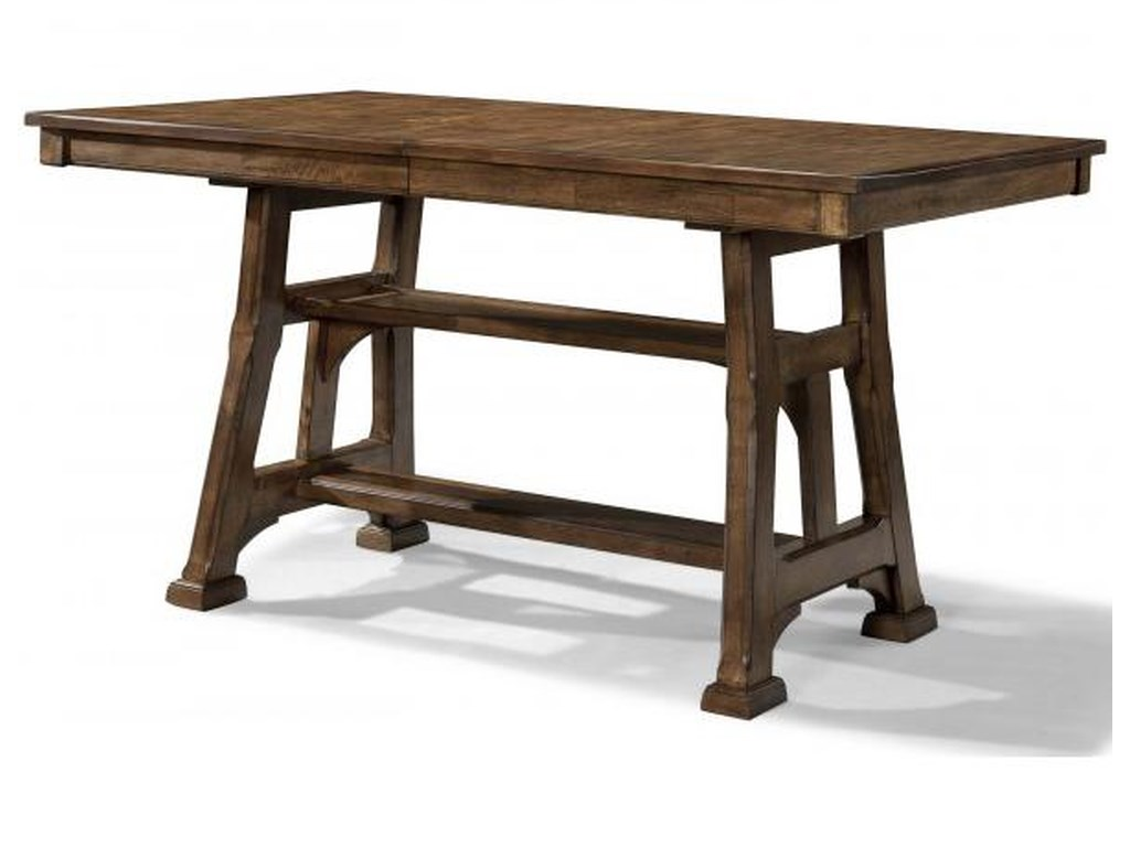 AAmerica OzarkGathering Height Trestle Table