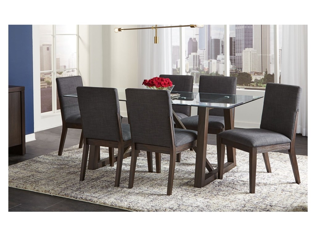 AAmerica Palm Canyon7-Piece Table and Chair Set