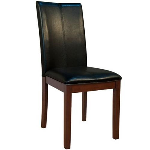 Parson Chairs Dining Side Chair With Block Legs And Cruved Back By AAmerica