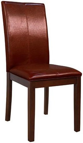 AAmerica Parson Chairs Dining Side Chair with Block Legs and Cruved Back