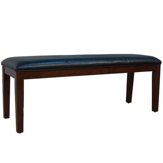 AAmerica Parson Chairs Bench With Block Legs