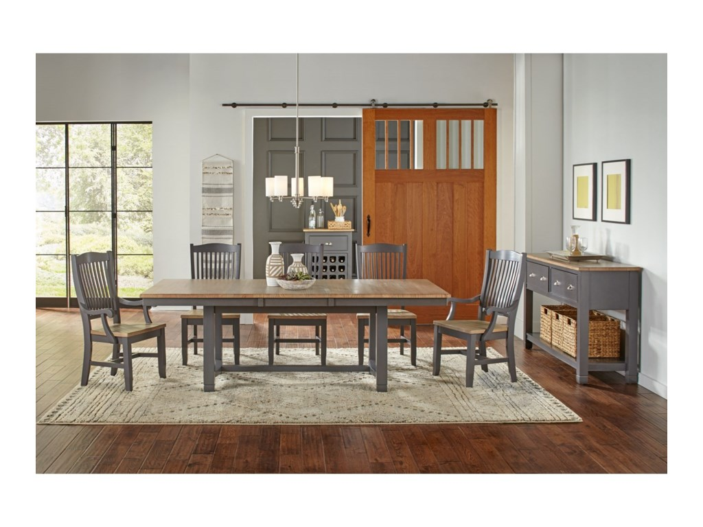 AAmerica Port TownsendTrestle Table
