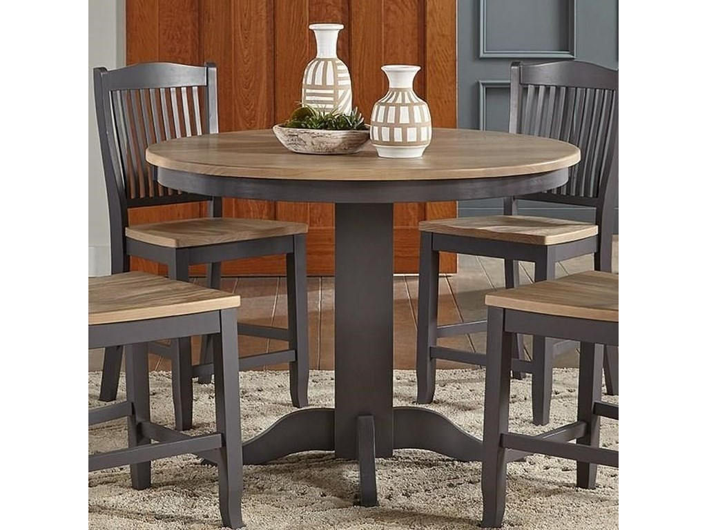 AAmerica Port TownsendGather Height Pedestal Table
